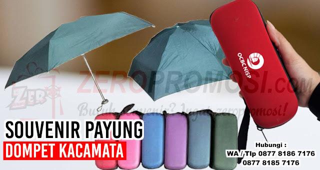 Payung Softcase Kacamata, Payung Dompet, grosir payung, dompet payung lipat 5, Payung Kecil Mini Lipat Dompet Kotak Kacamata dengan harga termurah