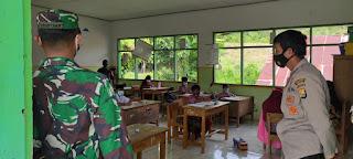 Polsek Baraka Polres Enrekang Rutin Lakukan Operasi Yustisi Di Sekolah