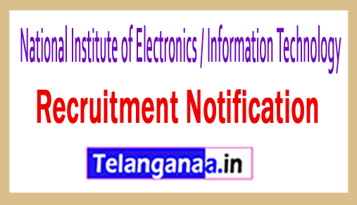 National Institute of Electronics / Information Technology NIELIT Recruitment