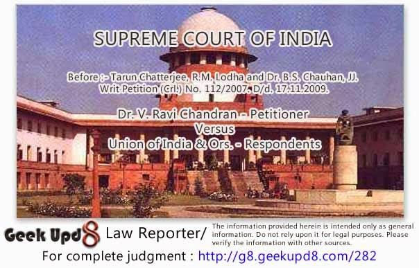 Supreme Court - NRI couple - Decree of divorce granted by U.S. Court - Joint custody of minor child given to couple - Wife brought the child to India, depriving joint custody to father - Supreme Court directed the wife to return to USA. alongwith child