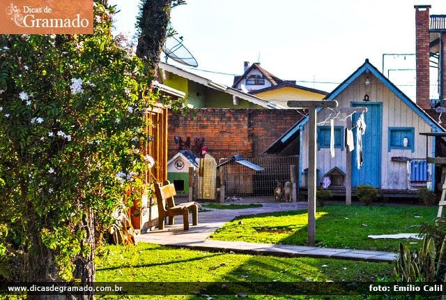Loja de malhas e residência na Rua São Pedro: Simplicidade que encanta