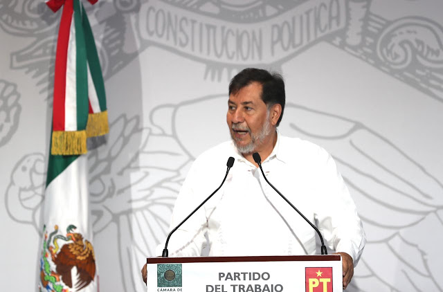 vicecoordinador del Grupo Parlamentario del PT, Gerardo Fernández Noroña