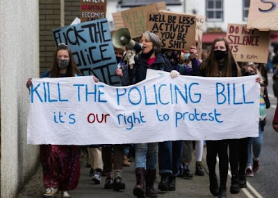 The policing bill: a threat to democracy?