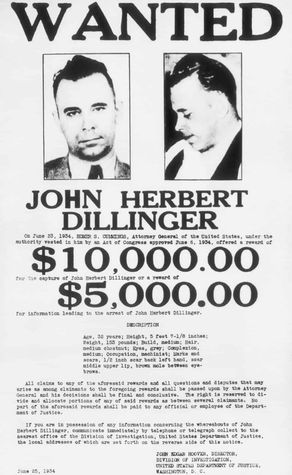 #960 Enemigo público nº1. John Dillinger. | luisbermejo.com | podcast