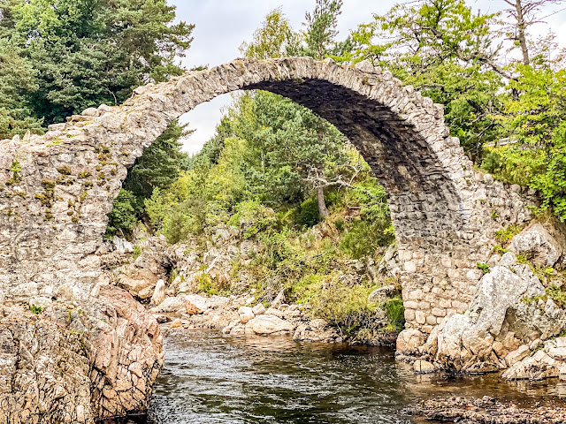 Packhorse bridge, Carr Bridge, Highlands of Scotland, Scotland by Rail part 5, the best of the highlands