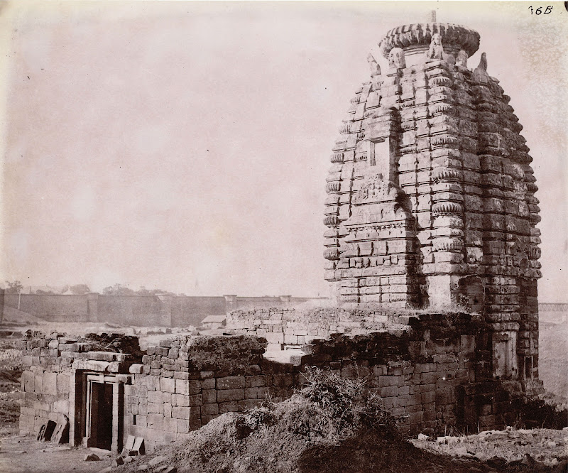 Siddheshvara Temple, Barakar, Burdwan District, Bengal - 1872