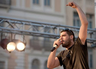 Clashes between Greek police and protesters during the anniversary of the killing of Pavlos Fyssas rap singer