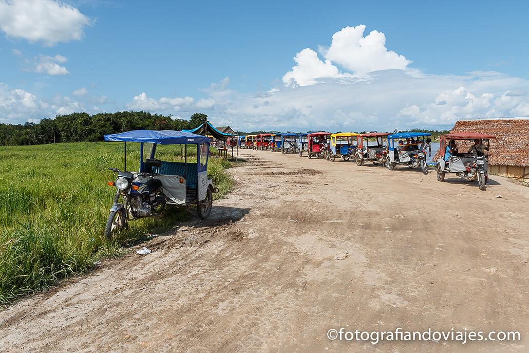 Tuk tuk en Iquitos