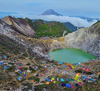 Gunung Sibayak Sumatra Utara