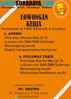 Lowongan Kerja Surabaya di CV. Elektro Oktober 2020