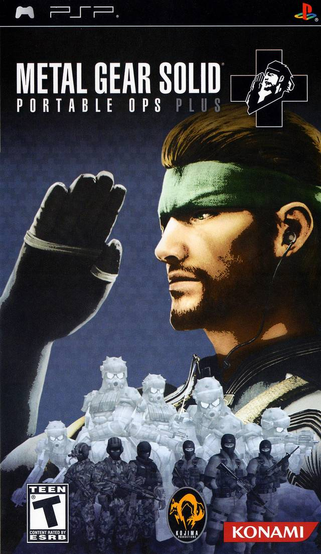 Metal Gear Solod Portable Ops Plus Europe PSP ISO PPSSPP For Android