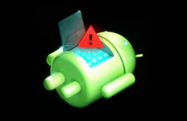 Android system recovery factory reset