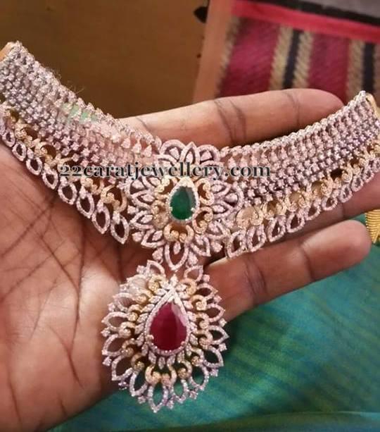 Grandeur Diamond Necklace