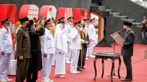 Walkot Makassar Lantik 15 Camat yang Dicopot karena Dukung Jokowi di Pilpres
