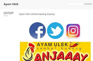Ayam Ulek Anjaaay