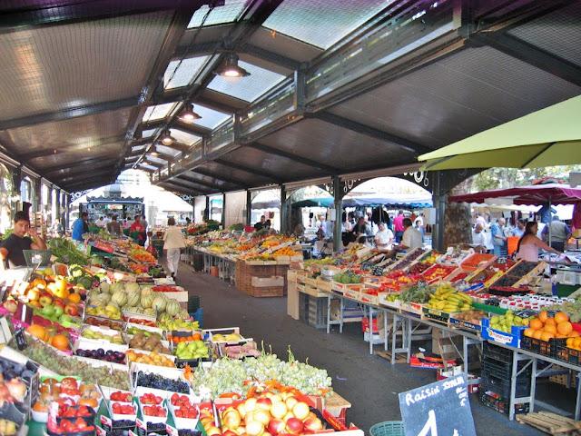 Mercado Marché Gambetta de Cannes