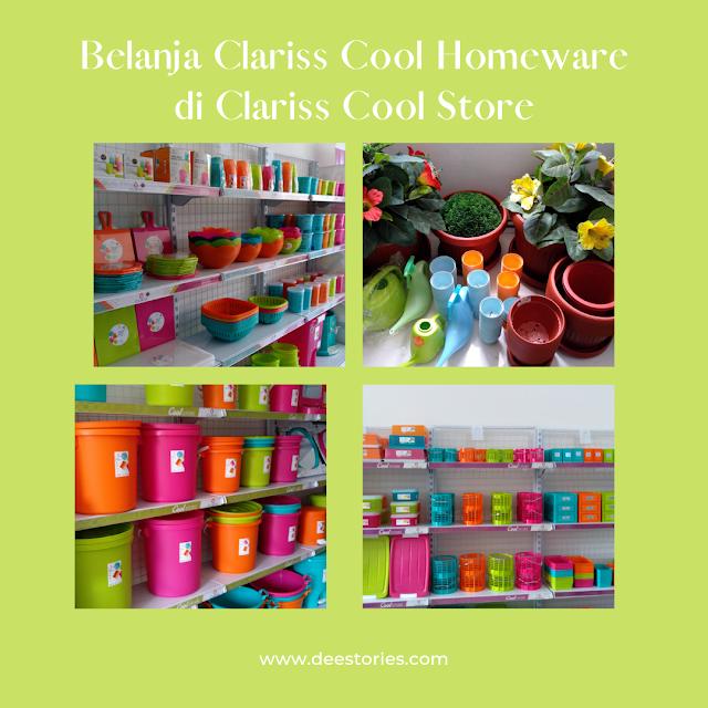 Cara Mudah Berbelanja Clariss Cool Homeware