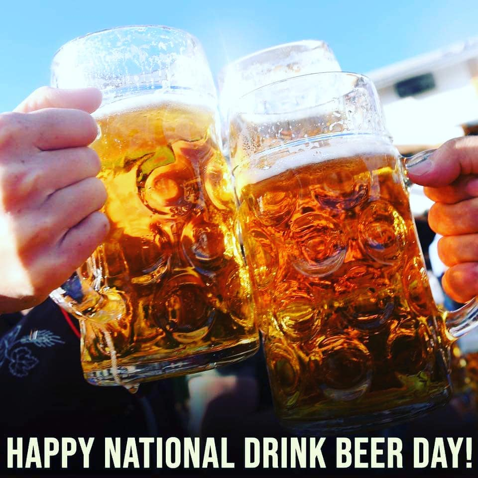 National Drink Beer Day Wishes Images