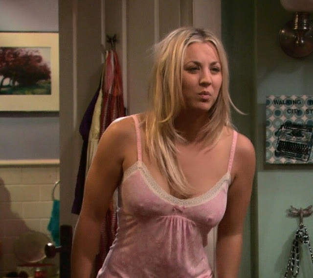 Kaley cuoco naked scene