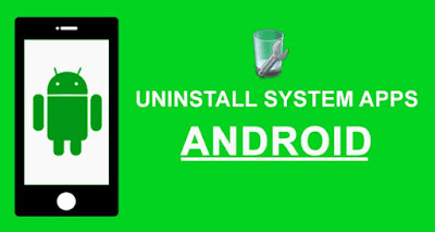 uninstall system apps apk