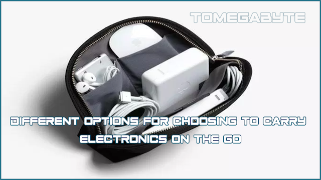 Different options for choosing to carry electronics on the go