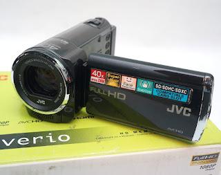 Handycam JVC GZ-E10BAG Bekas