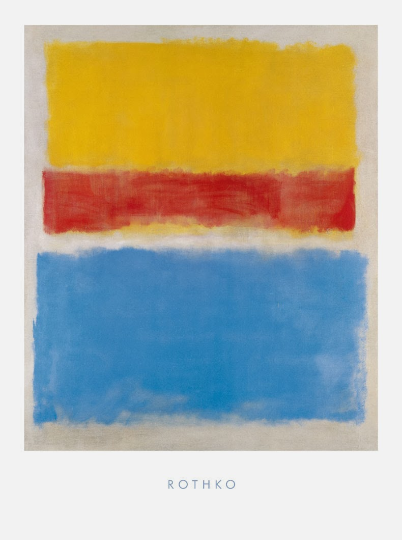 """Yellow-Red and Blue"" - Mark Rothko"