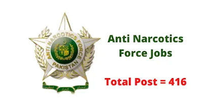Anti Narcotics Force ANF Jobs