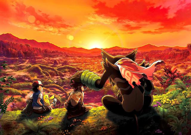 Ash dan Pikachu bertemu Koko