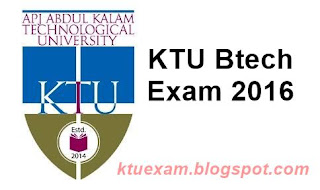 KTU-Btech-exam-results-2016