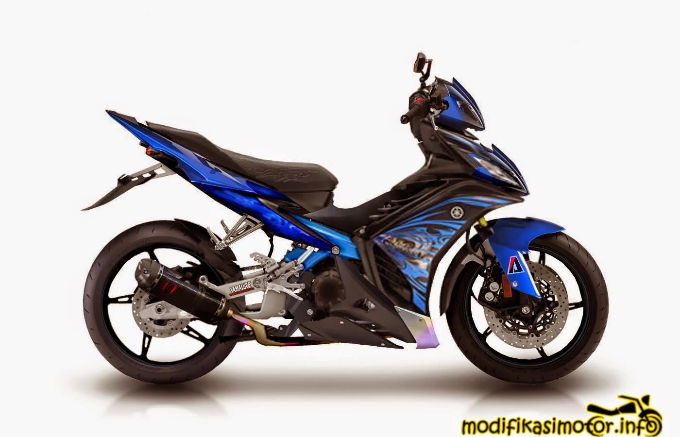 20 Gambar  Foto Modifikasi Motor Yamaha Jupiter MX New