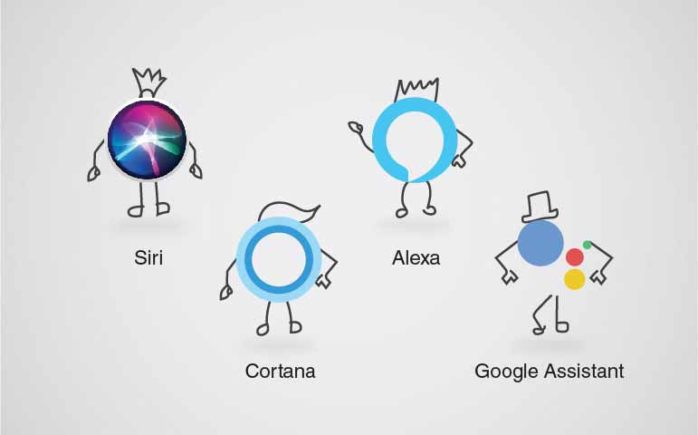 google assistant-cortana-siri-alexa