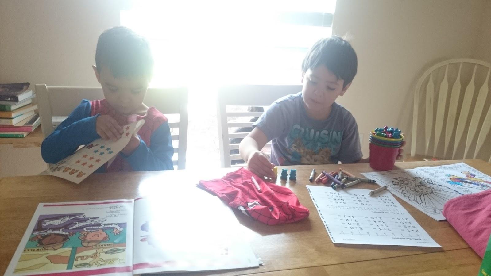 Raising Samuels Life Homeschool Week 8 Christopher