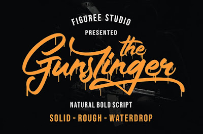 Download Font Poster & Banner The Gunslinger