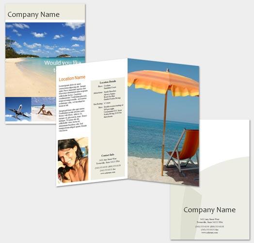 Brochure Kiosk Pics: Brochure Format Word