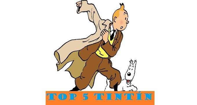 TOP 5: Álbumes de Tintín: una mini guía para novatos