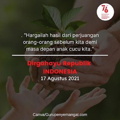 Kartu Ucapan Hari Kemerdekaan RI Tahun 2021 (11)