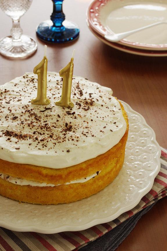 Cinco Quartos de Laranja Um bolo especial para os 11 anos  ~ Um Quarto De Laranja Blog