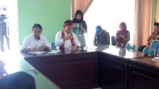 Kunjungi Phala Martha Sukabumi, Mensos: Kita Tidak Boleh Distriminasi Kepada Mereka