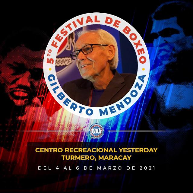 Festival de boxeo Gilberto Mendoza