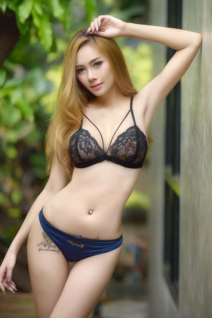 Hot and sexy photos of beautiful busty asian hottie chick Thai playboy model Onanong Wongsila photo highlights on Pinays Finest Sexy Nude Photo Collection site.