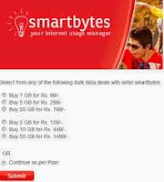 Airtel Smart bytes