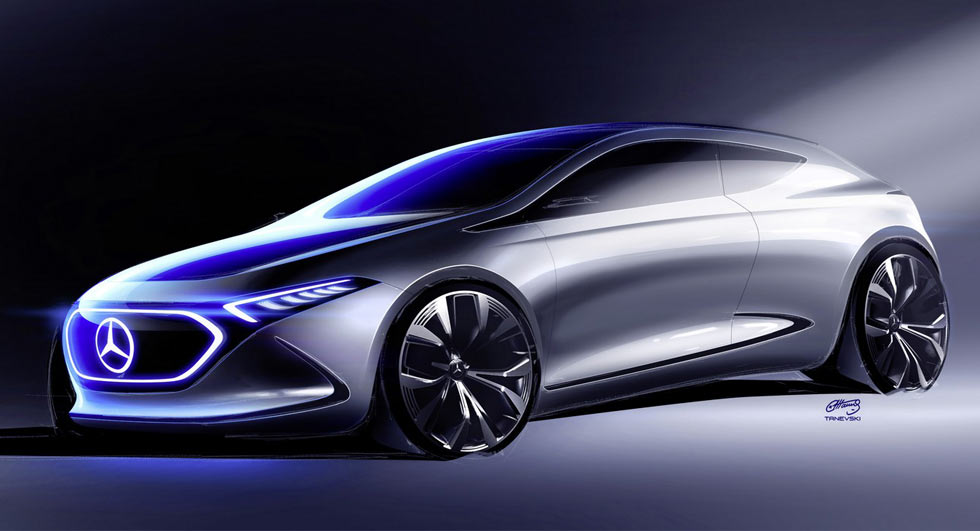 Mercedes Eq A Looks Sporty In Latest Teaser Image