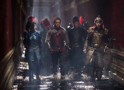Matt Damon, Tian Jing, Lu Han and Kenny Lin in The Great Wall (9)