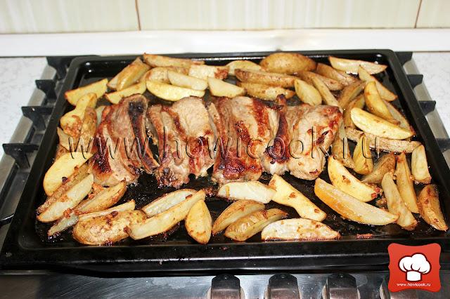 рецепт картофеля в духовке