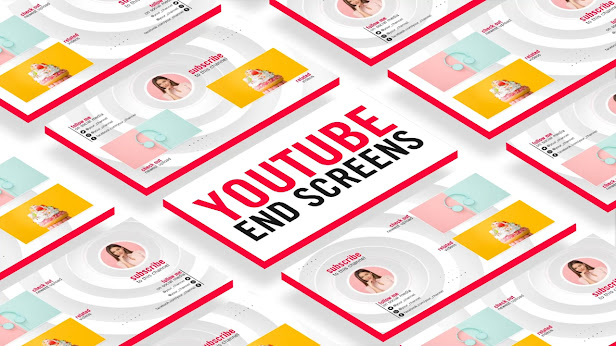 YouTube End Screen Background Loop - After Effects Template