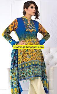 Al-Zohaib Cotton Silk Winter Collection 2016-2017