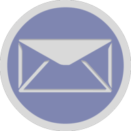mail button outline