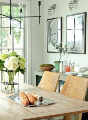 idee per decorare le pareti della sala da pranzo con un budget limitato