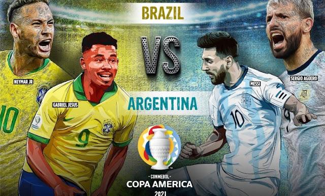 ARGENTINA VS BRAZIL LIVE COPA AMERICA 2021 PREVIEW: PROBABLE LINEUPS, PREDICTION, TEAM NEWS & KEY STATS